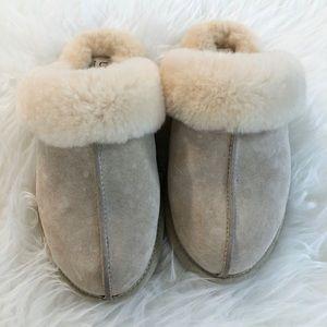Ugg Australia scuffette sheepskin slippers